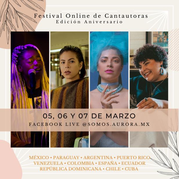 festival online cantautoras